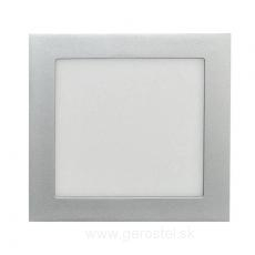 LED panel 12W/štvor.,vsad.-strieb./neutr.